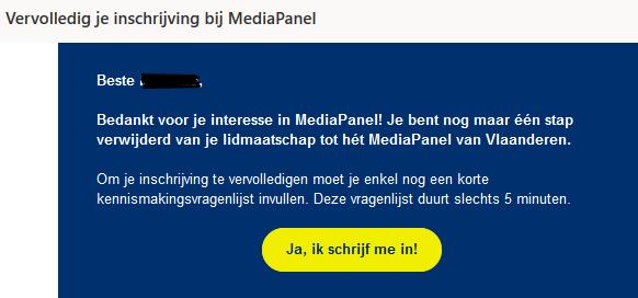mediapanel belgie review